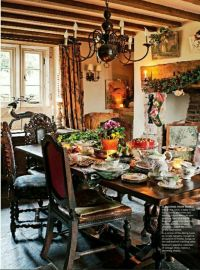 Mix of #frenchcountry & #englishcountry | French Country ...