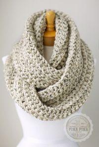 Crochet Infinity Scarves on Pinterest