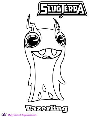 Tazerling coloring Page by SKGaleana by SKGaleana on