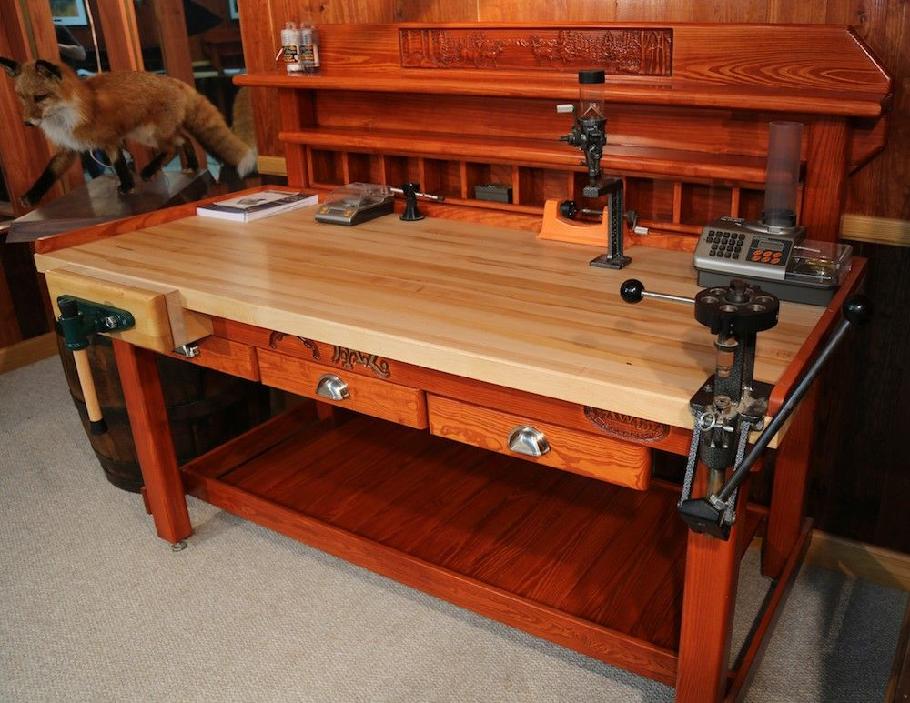 Gun Reloading Bench Plans