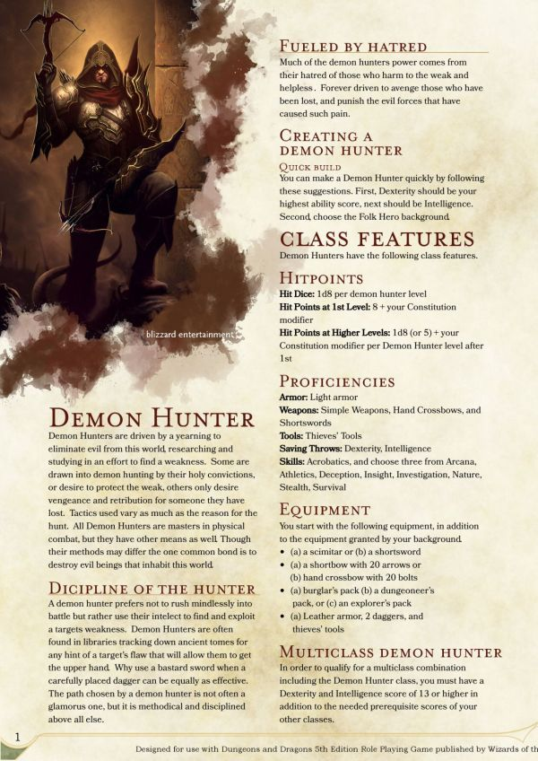 For Honor Dnd Homebrew - Year of Clean Water