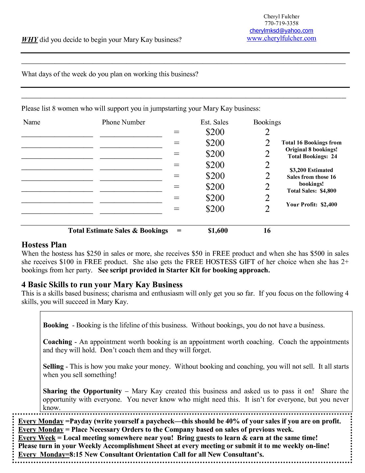 Tax Planning Worksheet