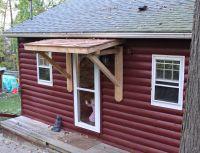 Weekndr Project: Front Door Cedar Awning | Roof overhang ...