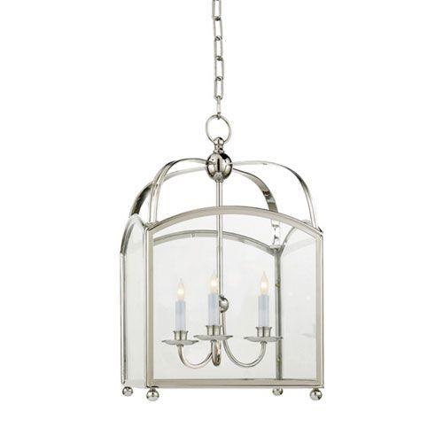 Small Polished Nickel Arch Top Lantern Visual Comfort And Company Pendant Lighting
