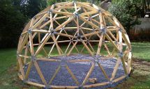 Building a Geodesic Dome House