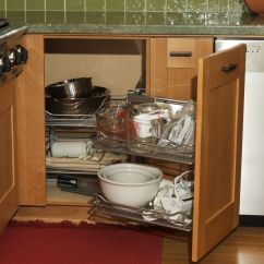 Corner Kitchen Cupboard Ideas Island With Drop Leaf Clearance Quotmagic Quot Cabinets Inexpensive