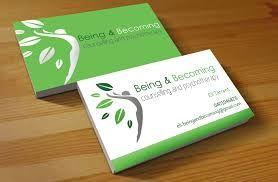 Physiotherapist Business Card Design Australia Google