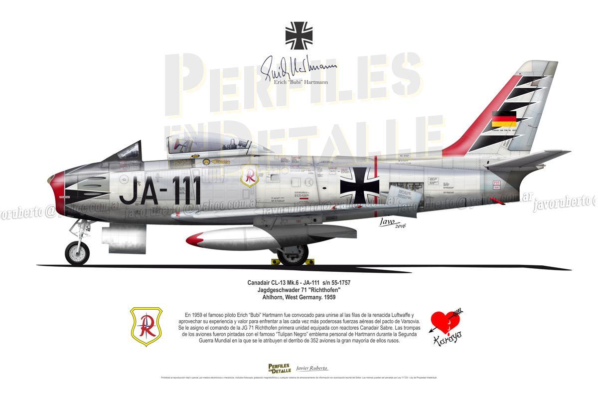 Canadair Cl 13 Mk 6 F 86 F Ja 111 S N 55 Luftwaffe