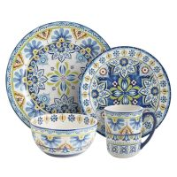 Mediterranean Tile Dinnerware   Pier 1 Imports   Dellrose ...