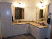 L Shaped Double Sink Bathroom Vanity | Bathroom Ideas ...