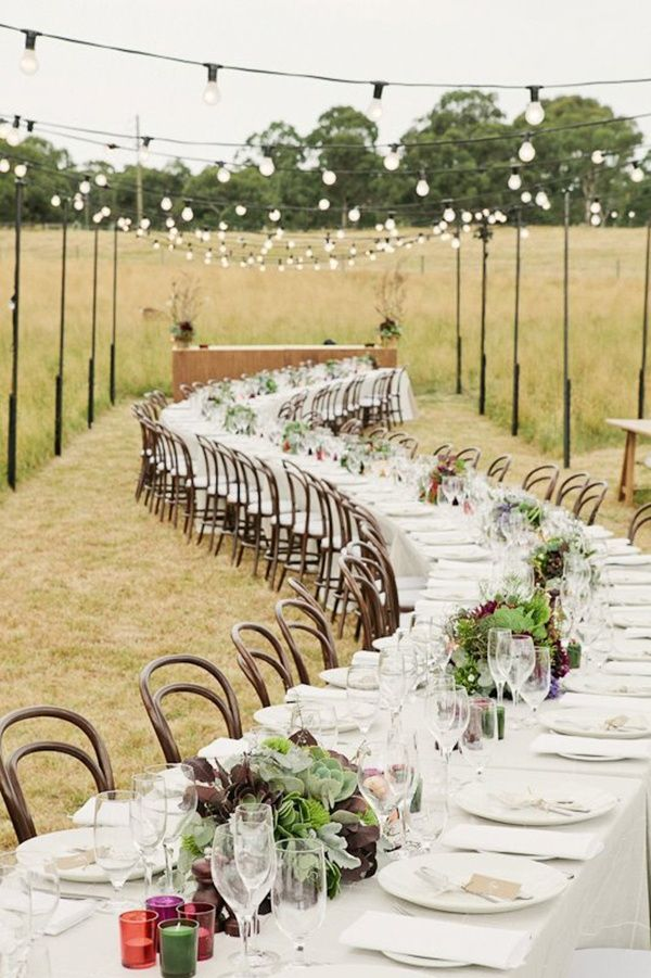 Outdoor Rustic Wedding Reception Ideas Receptions Wedding! And