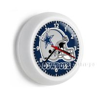 Dallas Cowboys NFL football team logo wall clock boys play ...