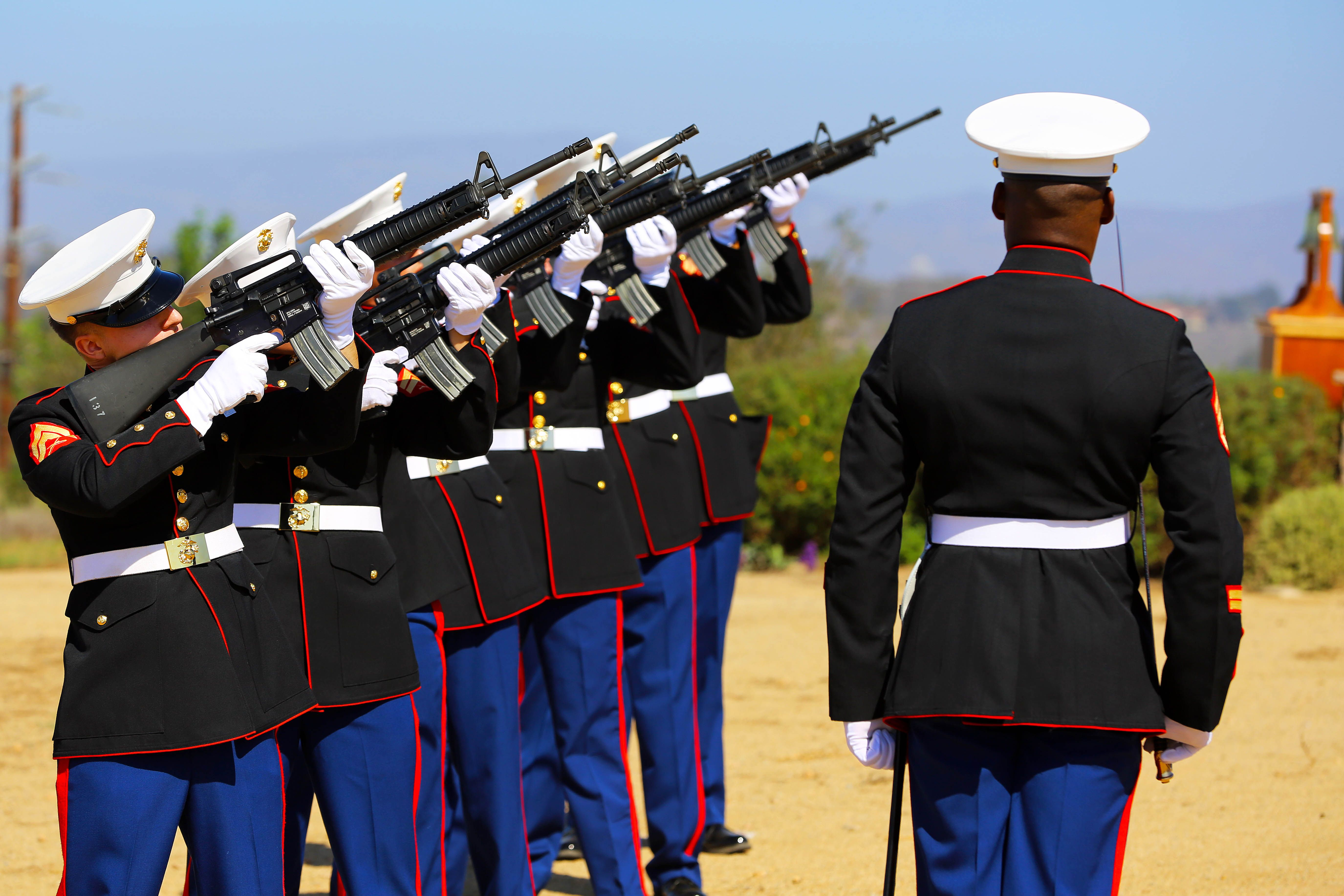 The Marine Corps Dress Blue Uniform Is Often Said To Be