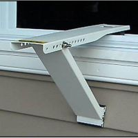 Window Air Conditioner Support Universal Box A/C Bracket ...