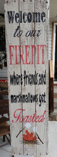 Firepit Sign | Pub Room | Pinterest | Pallets, Craft and Woods