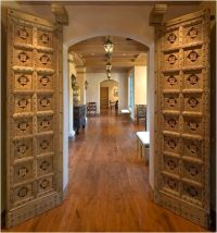 love antique Indian doors in modern homes | home sweet ...