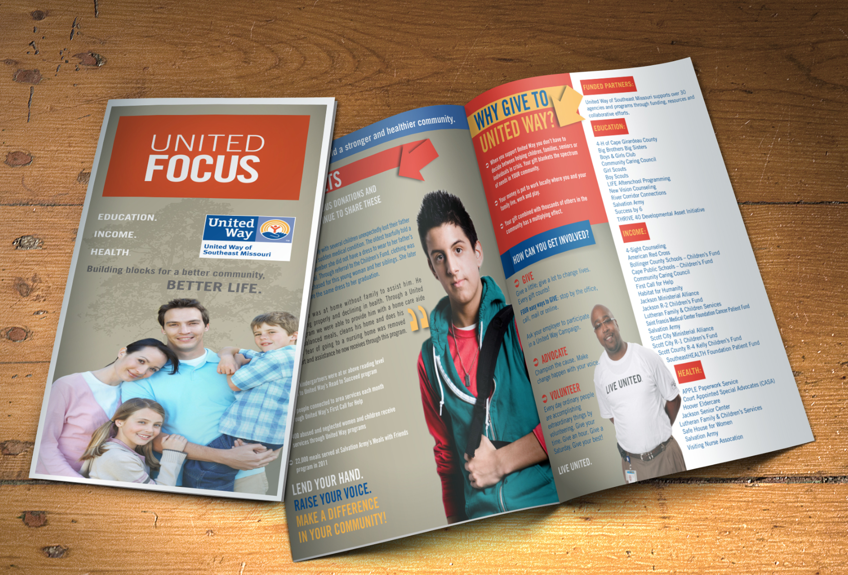 United Way Brochure By BOLD Marketing See More Non Profit Marketing