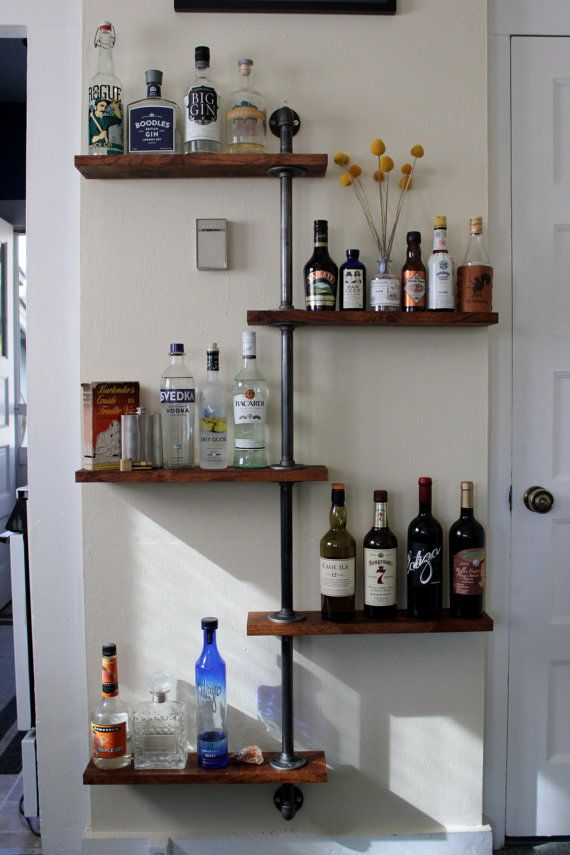Best 25 Liquor shelves ideas on Pinterest  Bar cabinet designs Condo decorating and Cabinet