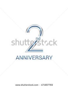 nd anniversary logo design uses three lines which form the numbers years  also logos signs and on pinterest rh