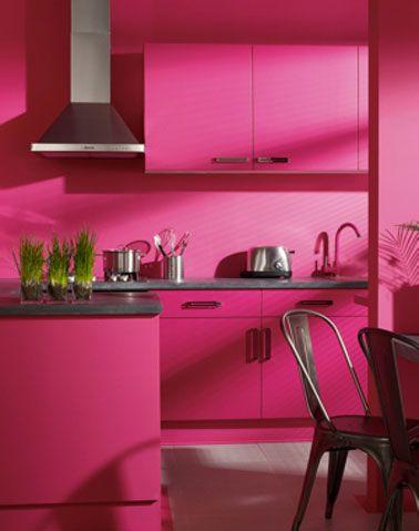 quelle couleur avec une peinture rose dans chambre salon cuisine