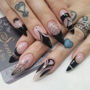 stiletto halloween nails kortenstein