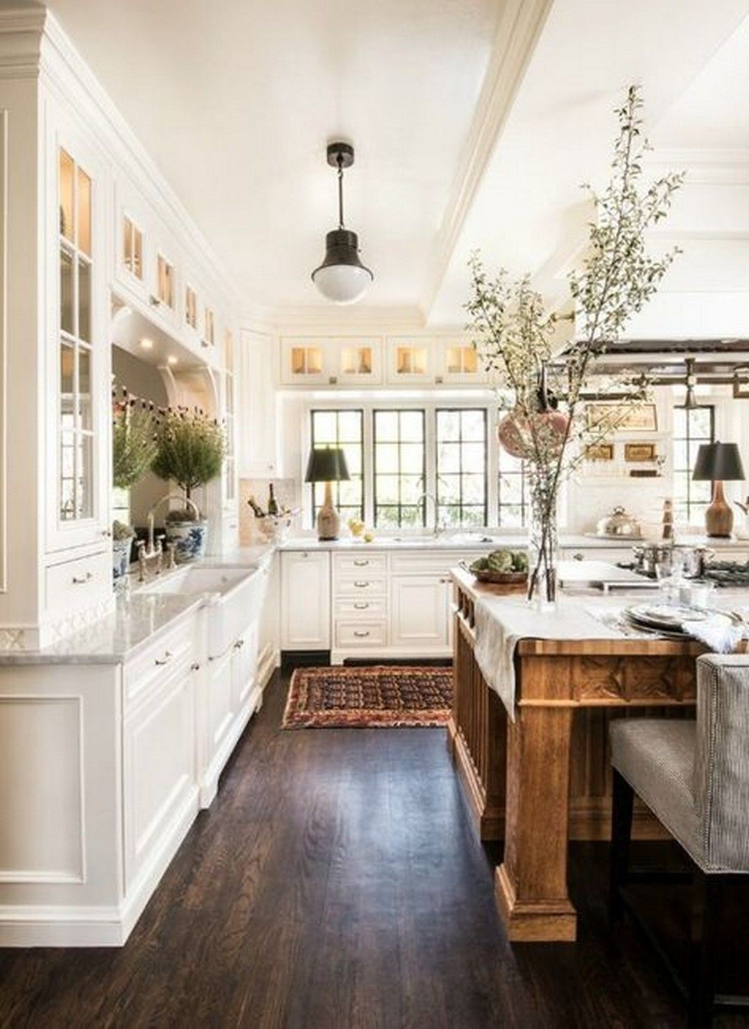 20 Farmhouse Kitchen Ideas On A Budget For
