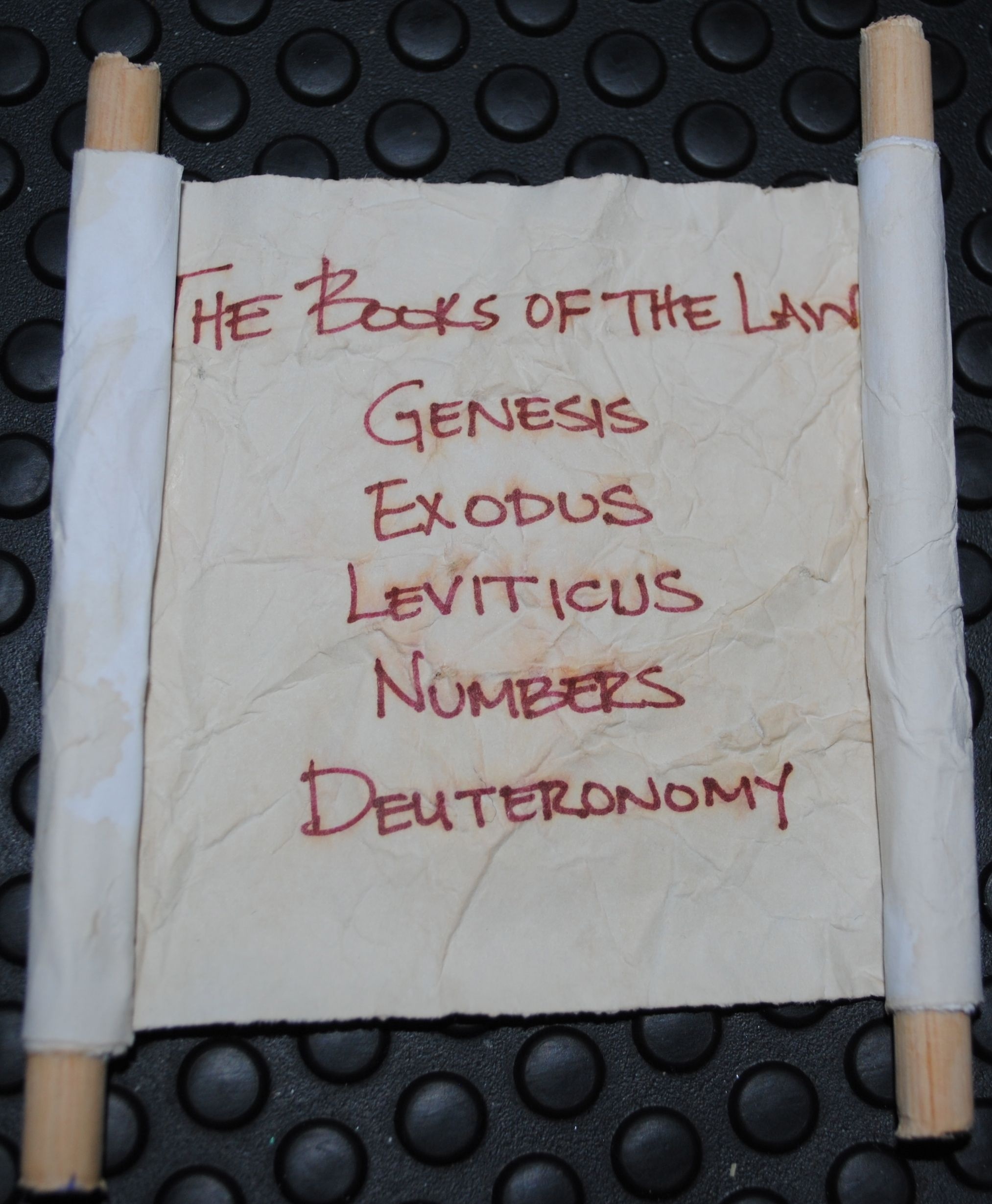 18 Books Of The Law