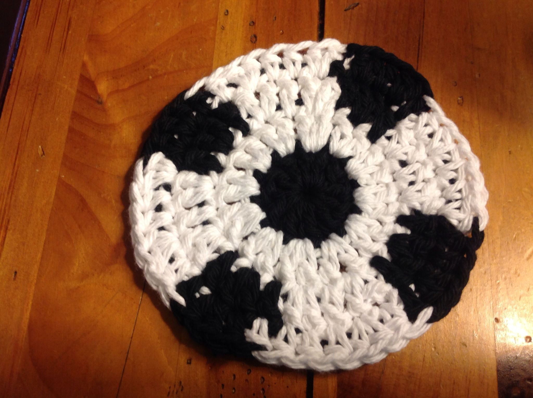 Crochet Patterns Afghan Soccer Ball