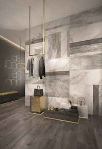Wall/floor tiles with marble effect SUPREME by Flaviker
