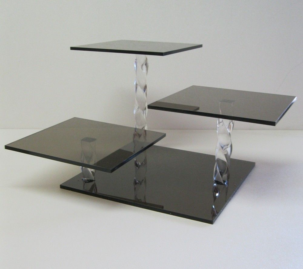 3 Tiered Square Cake Stands