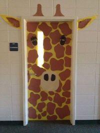 22 Creative Classroom Door Ideas: jungle, fire month ...