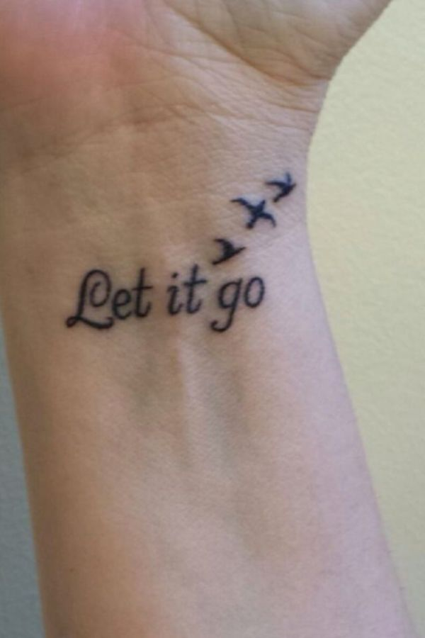 20 Quotes Birds Tattoos On Wrist Ideas And Designs