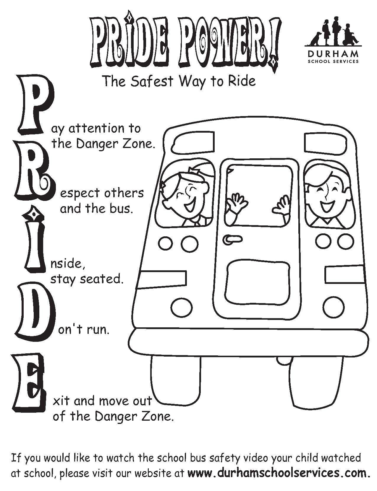 Pride Power Coloring Sheet