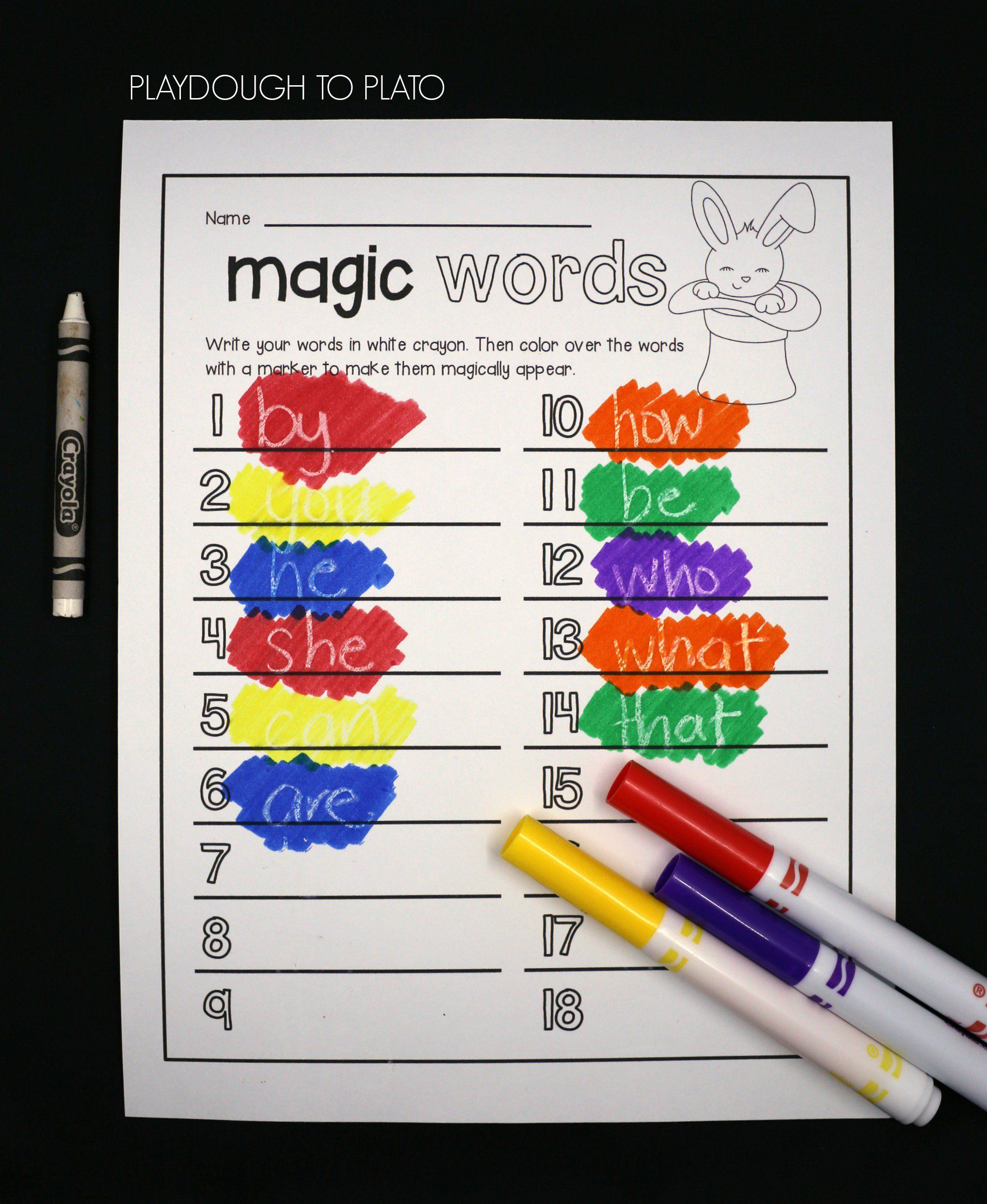 Best 25 Magic Words List Ideas