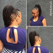 braided ponytail ideas 40 cute