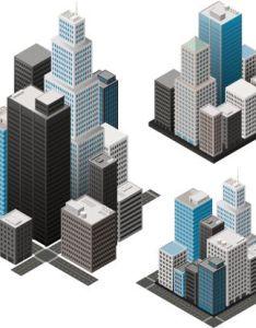Isometric cities vector art also game design iso rh za pinterest