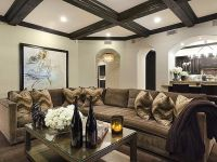 Khloe Kardashian's California Home: Living Room ...