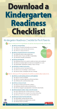 Kindergarten Readiness Checklist for Pre-K Parents ...