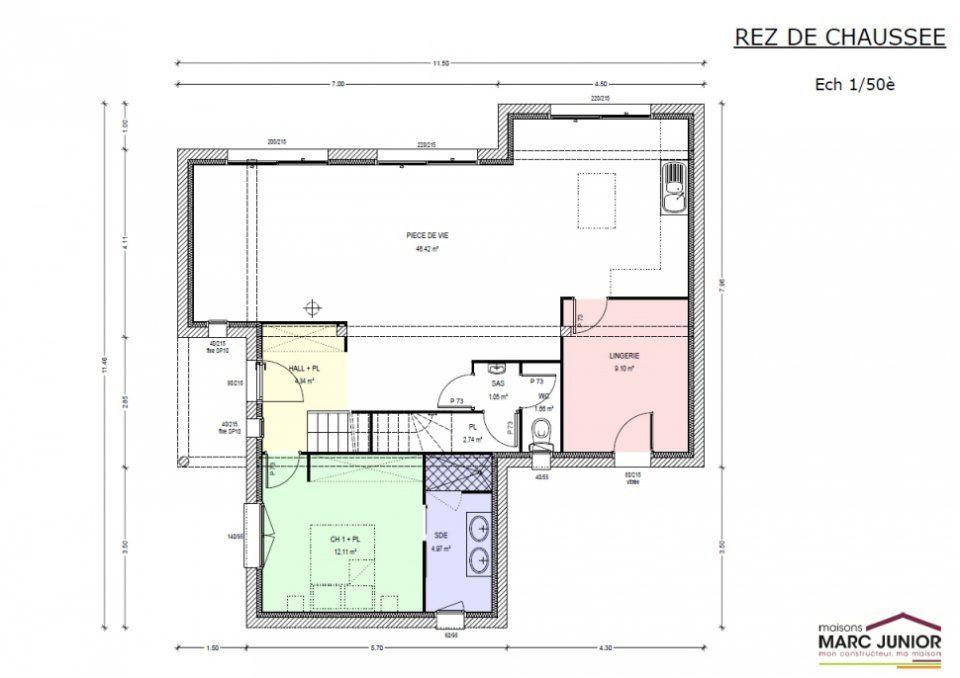 Plan de maison neuve great plan maison neuve plan maison for Catalogue maison neuve
