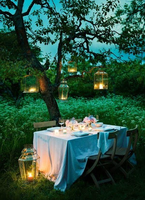 20 Inspirational Night Wedding Ideas Gardens Lighting And Wedding