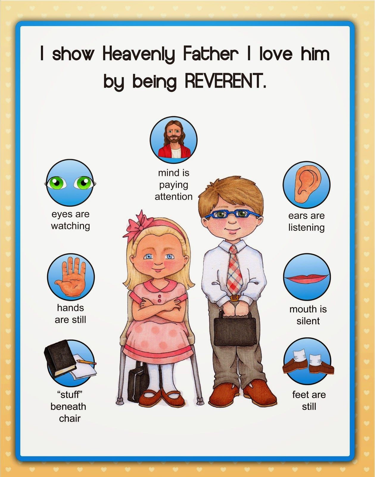 Reverence Poster Another Freebie From Susan Fitch Design