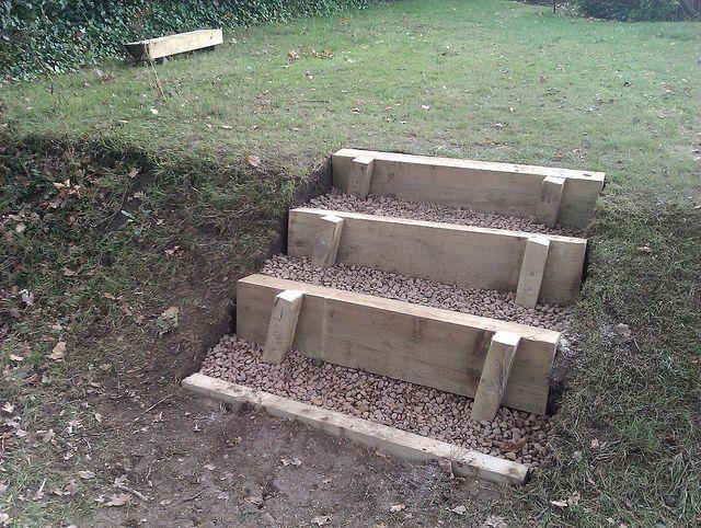Garden Steps Flickr Photo Sharing! Small Budget Gardening