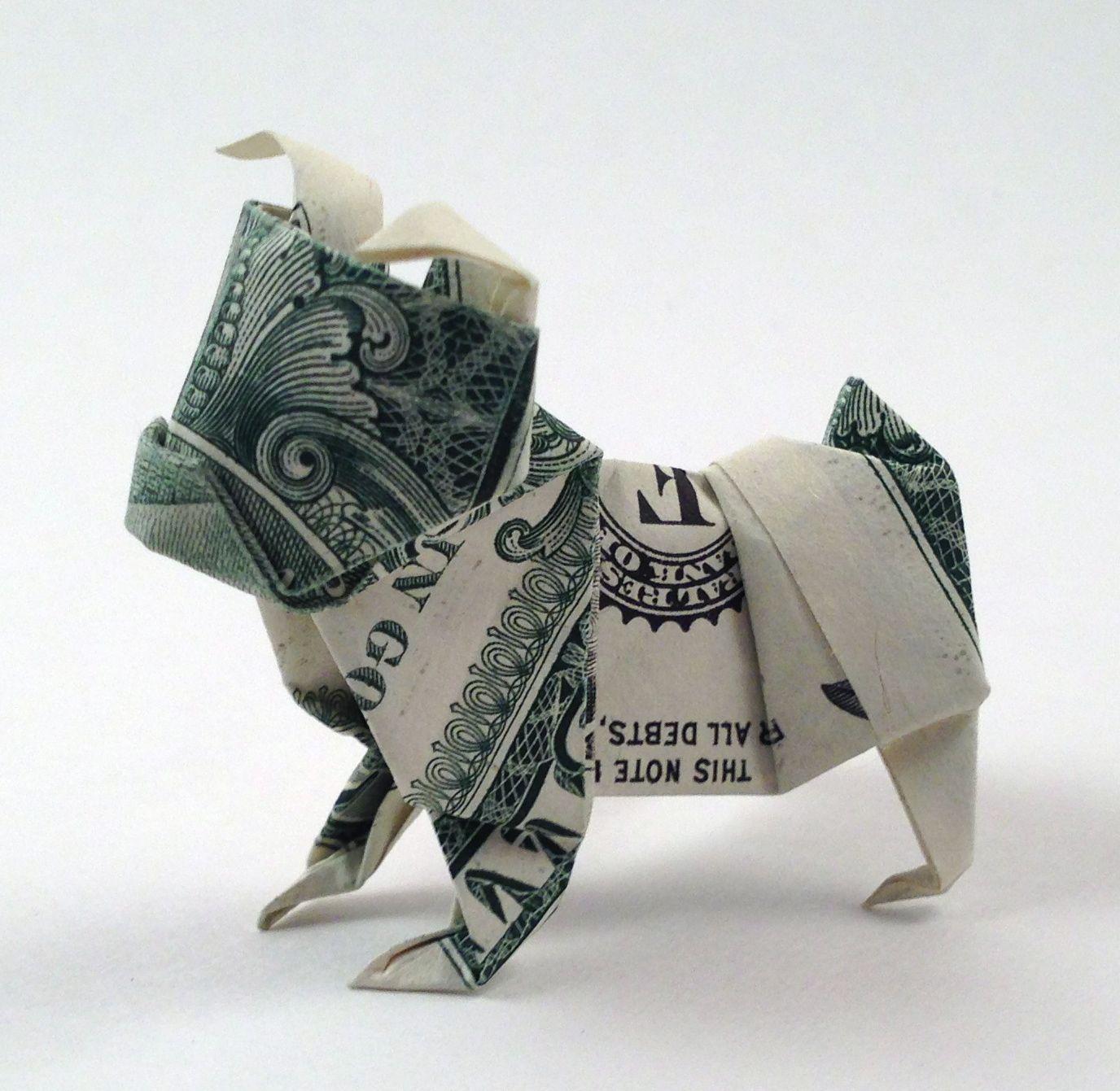 money origami diagram 110 volt relay wiring diagrams dollar bulldog origamiusa