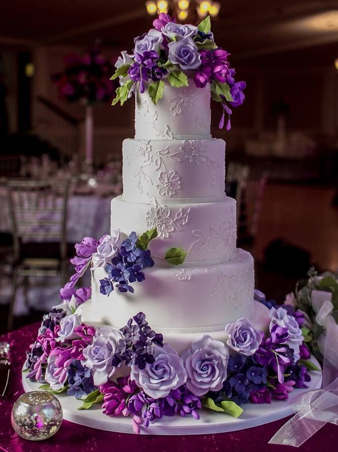 Best 25 Violet Wedding Cakes Ideas On Pinterest Violet