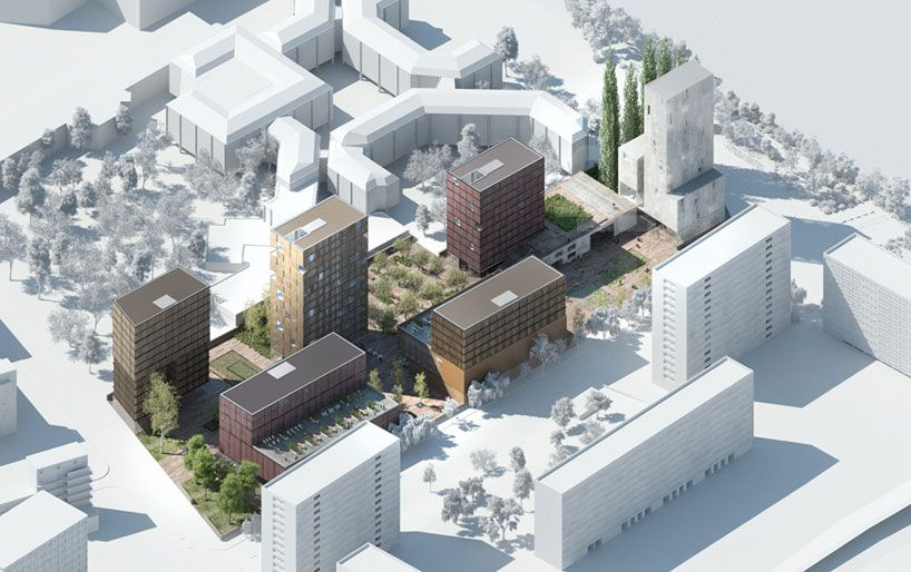 LAN architecture wins urban regeneration competition in