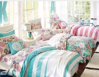 Triplet bedroom decorating idea for three girls. Triplets ...