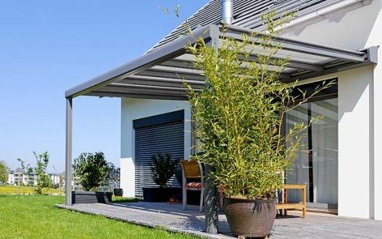 Terrassenüberdachung Aus Glas Varianten Terrasse Pinterest