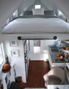 Guest house idea  love how the bed is above living space great for  small also pin by spanish and asl lady on dream home pinterest hidden rh