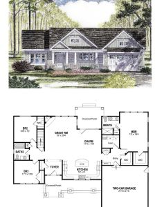 Cottage craftsman ranch house plan also best stylish homes images on pinterest rh in