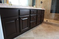 Painting Bathroom Cabinets White. Chalk Paint Color Barn ...
